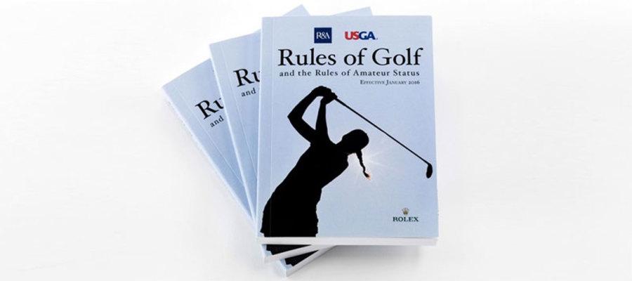 Revisione 2016 delle regole del golf